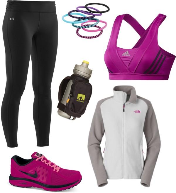look-sport-entrainement-fuschia-course