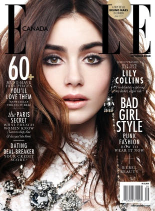 Lily-Collins-by-Max-Abadian-for-Elle-Canada-September-2013-Cover-4