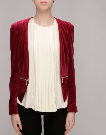 Against_Nudity_tops_fraise-framboise-jacket_Red