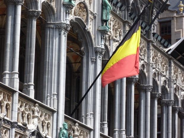 Drapeau-Belgique-Bruxelles