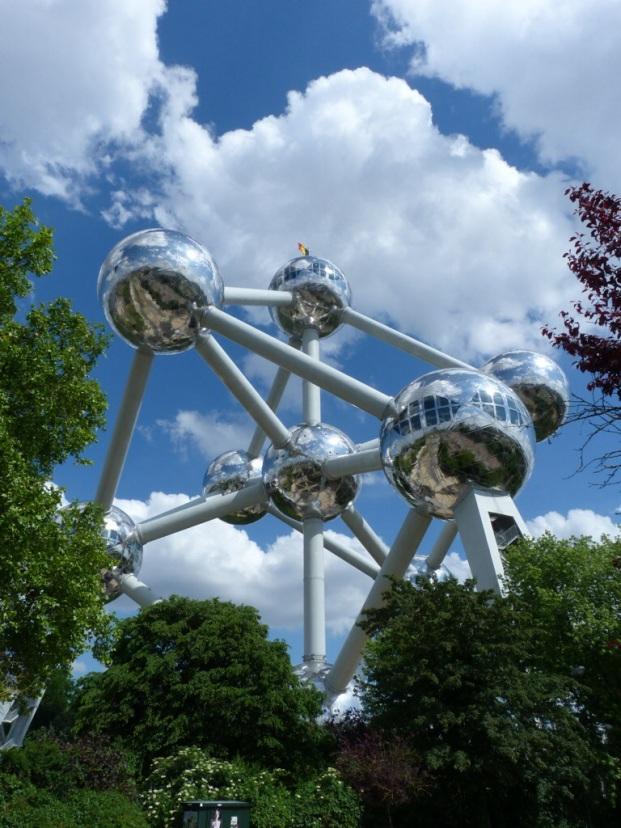 Atonium-Bruxelles-Belgique-Belgium