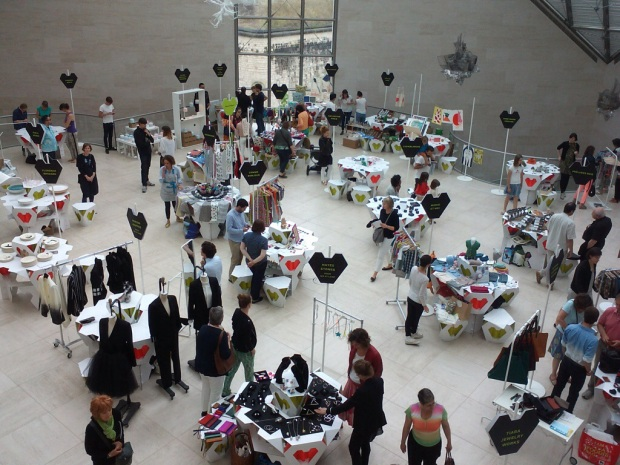 MUDAM Luxembourg marché des créateurs