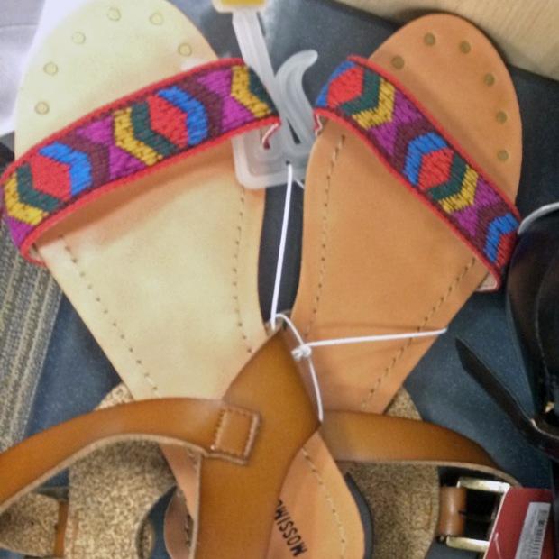 sandales-Target
