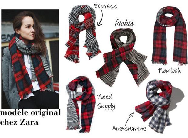 foulard-carreauté-style-zara-plaid-scarf