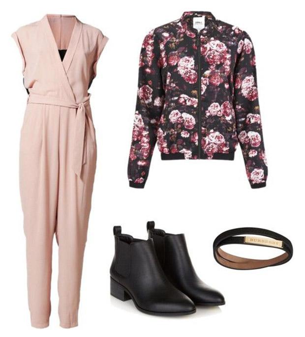 GNO-tenue-de-soirée-hiver-jumpsuit-bomber-rose