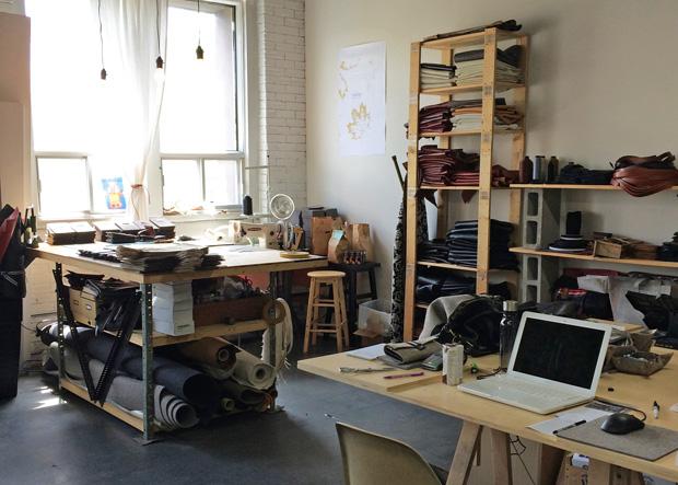 L'atelier des sacs Cantin aux Ateliers Capitol.
